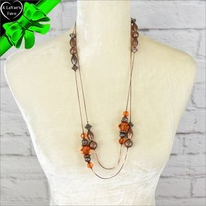 Jewelry - Extra Long Antique Style Necklace ~0cd40s0sc31j0hi